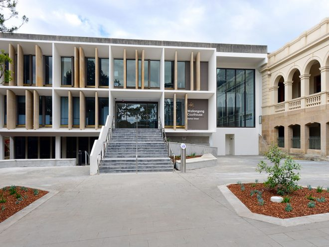 Wollongong Courthouse Refurbishment