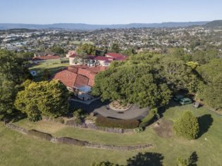 GreenHill Manor Aerial