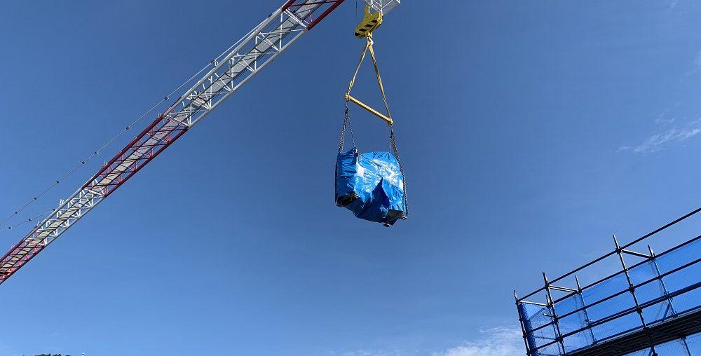 Crane Lift - Chiller