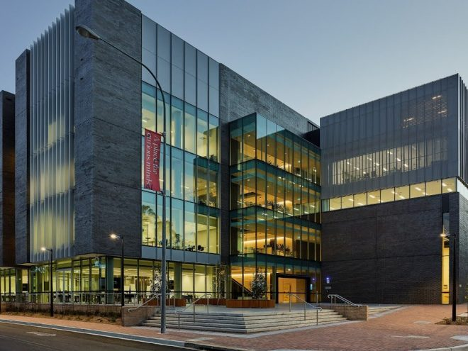 Mechanical services, cooling towers and acoustic design. University of Wollongong, Western Building