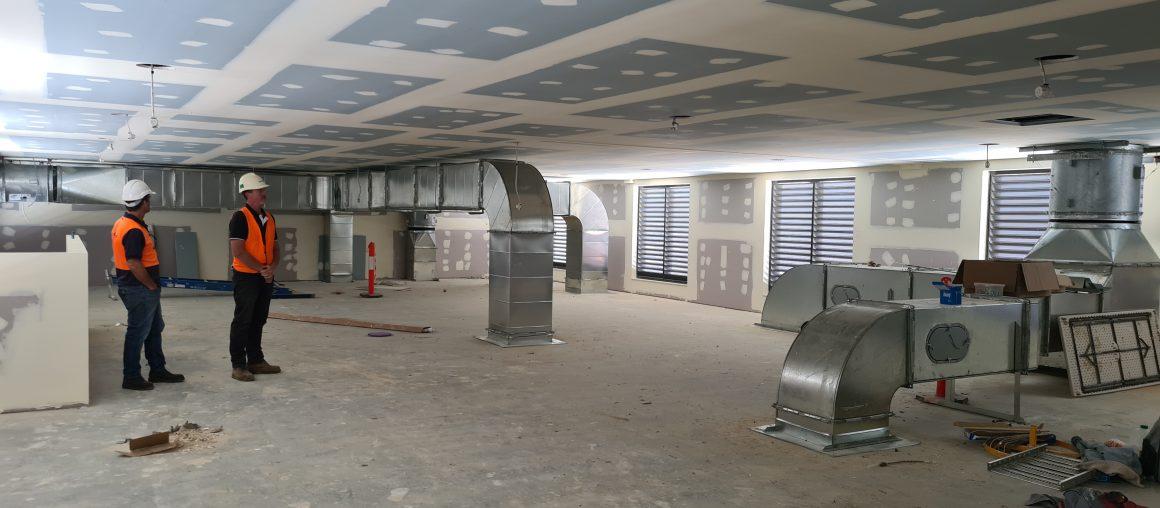 Zen plantroom – Mid Construction 2